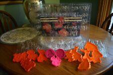 Disney & Barbie 11 Chocolate Molds & 13 Cookie Cutters/Presses Pooh Dalmatians