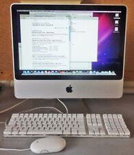 "Apple iMac 20"" A1224 2.GHz 1GB RAM 250GB HDD MacOS 10.6.8/ keyboard/mouse/faulty"