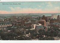 LAM(C) Omaha, NE - Bird's Eye View of Omaha - Business District