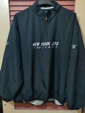 Reebok NFL NY Jets Equipment Pullover Windbreaker Vented Jacket Mens  SZ XXL-2XL