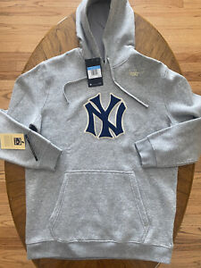 RARE NWT Nike MLB New York Yankees Cooperstown Collection Hoodie Men Size Medium