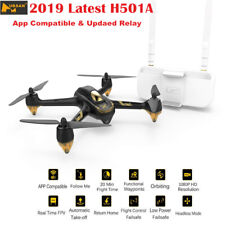 Hubsan X4 H501A PRO Brushless FPV RC Quadcopter APP 1080P Follow Me GPS + Relay