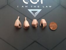 VTS New EPOCH COP Judge Anderson Hands x 4 VM-013 loose 1/6th scale