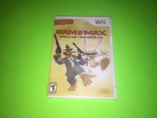 Sam & and Max Season One 1 Nintendo Wii + U SPANISH VARIANT NEW FACTORY SEALED