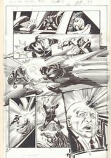 Convergence Suicide Squad #2 p.15 - Shot in the Head Action art by Tom Mandrake Comic Art