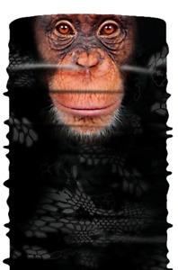 Face Mask/Scarf - Neck Gaiter - Monkey