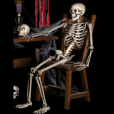 Halloween Bones Poseable Human Skeleton 40cm Hanging Party Props DIY Decor Gift
