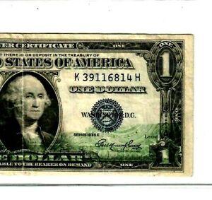 "$1 ""FRONT GHOSTING ERROR""(SILVER CERT) 1935""GHOSTING ERROR"" RARE! NICE! CRISPY!!"