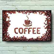 LARGE COFFEE BEAN HOUSE SIGN PICTURE BAR PUB CAFE TEA CATERING SERVED HERE LOGO