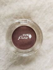 100% PURE - Fruit Pigmented Eye Shadow COCOA PLUM natural eye makeup OPEN