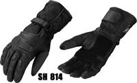 NEW  Leather Gauntlet Gloves  Motorcycle Motorbike  CowHide Leather