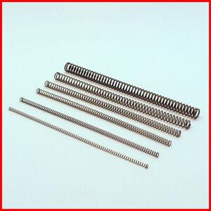 Druckfedern (lang) Federstahldraht 3,4,5,6,8,10,12 mm, Set mit je 2 St. zur Wahl