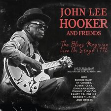 JOHN LEE HOOKER AND FRIENDS - THE BLUES MAGICIAN LIVE ON STAGE 1992  CD NEU