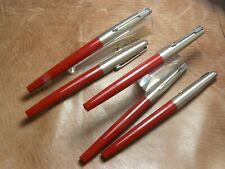 PARKER SYSTEMARK ROLLER BALL PEN LOT OF 5