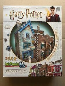 ~HARRY POTTER~Diagon Alley~Ollivander's Wand Shop/Scribbulus~Wrebbit 3D Puzzle~