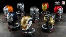 Iron Man 1/5 King Arts Deluxe Helmet series 6 Marvel Comic personaje display nuevo