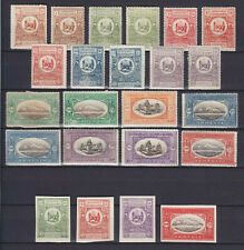 ARMENIA 1920, COMPLETE SET + SHADES + IMPERFS, 23 STAMPS