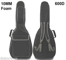 """Acoustic Guitar Carrying case, 10mm Paddding Bag, Max. 41"""" full size (550-011)"""