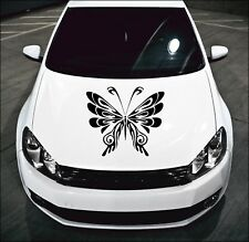 LARGE Tribal Butterfly Car Bonnet Sticker Car Vinyl Graphic Side Panel Decal 47