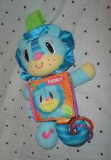 "Playskool Baby Toy Activity 14"" Rattle Book Plush Soft Toy Stuffed Animal"