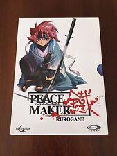 PEACE MAKER KUROGANE SERIE COMPLETA 24 EPISODIOS 5 DVD - 576 MIN MUY BUEN ESTADO