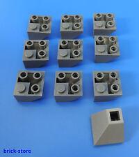 LEGO Nr 4210862 / 2x2 ang. PIETRA Dachstein/pietra costruzione inclinata GRIGIO