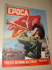 EPOCA=1954/210=TRIESTE ITALIANA=AUDREY HEPBURN=CASO MONTESI=SCHIAFFINO MILAN=