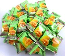 110 g. Thai Mango flavoured soft chewy candy Toffee Sweet tropical fruit snack