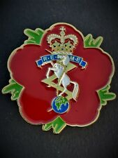 Royal Electrical & Mechanical Engineers REME Remembrance Flower Lapel Pin (P5)