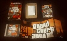 Grand Theft Auto III Big Box (PC, Rockstar Games, GTA 3, CIB, 2002) + POSTER!