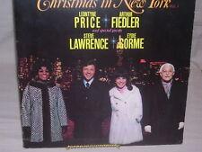Christmas in New York Volume 3 Price, Fiedler, Lawrence, Gorme VG / VG