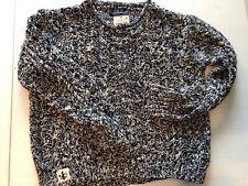 New Polo Ralph Lauren Girl's Size 6 Knit Sweater Navy/cream