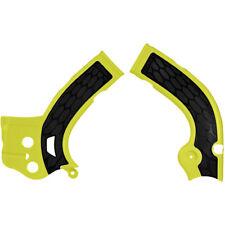 Acerbis X Grip Frame Protectors Suzuki Rmz450 2008 - 2017 Yellow Black