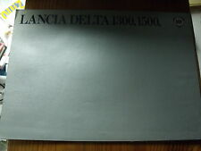 µ?a Lancia Delta 1300, 1500 dépliant publicitaire- catalogue - brochure