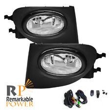 Fog Lights Bumper Lamps Light Kit - Clear ( Fits 02-05 Honda Civic Si EP3 )