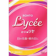 Rohto Lycee b Eye Drops for Woman Cool Level3 2Pack Set 8ml Made in Japan