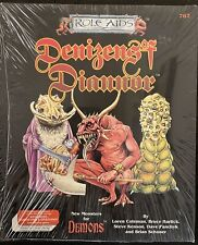 RARE DENIZENS OF DIANNOR DEMONS RPG MODULE - ROLE AIDS AD&D DUNGEONS & DRAGONS