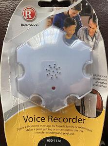 Voice Recorder RadioShack Snowflake 630-1138