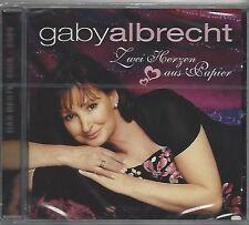 GABY ALBRECHT / ZWEI HERZEN AUS PAPIER - DAS BESTE 2006 - 2009 * NEW CD * NEU *