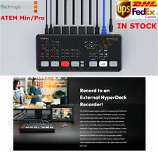 Original Blackmagic Design ATEM Mini Pro HDMI Live Stream Switcher Multi-viewDHL