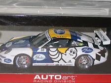 1/18 AUTOART PORSCHE 911 ( 997 ) GT3 CARRERA CUP PCCA 2006 #33 M.MARSH MICHELIN