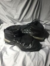 MENS 2001 AIR JORDAN XVII 17 SHOES 302720-041 SIZE 10.5 BLACK SILVER