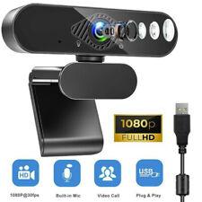HD 1080P Webcam mit Mikrofon Drehbarem Clip für Live-Streaming Kompatibel PC/Mac