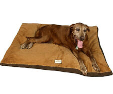"""Aeromark Extra Large Dog Mat in Brown M05HKF/ZS-XL , 47""""L x 36""""W x 4.5""""H New"""