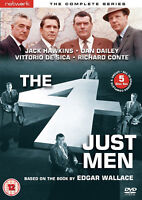THE FOUR 4 JUST MEN COMPLETE SERIES DVD Jack Hawkins Edgar Wallace UK New R2 x