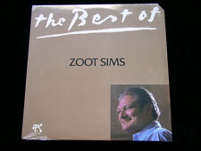 """New Sealed The best of ZOOT SIMS - 1980 Pablo Records 2310-850 -  """"Cut Out"""""""