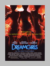 """DREAMGIRLS CAST X3 PP SIGNED 12""""X8"""" POSTER BEYONCE"""