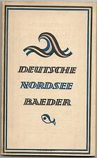 alter Reiseführer DEUTSCHE Nordsee Bäder von Emden bis Kampen 1924 ( 2530