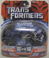 NIGHTWATCH OPTIMUS PRIME & STEALTH STARSCREAM Transformers Legends Figures 2007