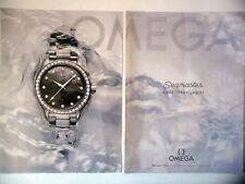 PUBLICITE-ADVERTISING :  OMEGA Seamaster Aqua Terra Ladies [2pages] 2016 Montre